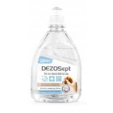 CLINEX DEZOSept żel do higienicznej dezynfekcji rąk z dozownikiem 500ml