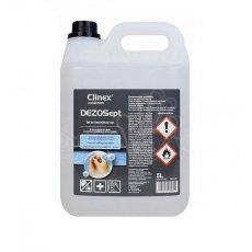 CLINEX DEZOSept żel do higienicznej dezynfekcji rąk poj. 5L