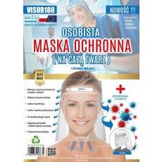 Maska-przyłbica ochronna PET V.180 personalizowana