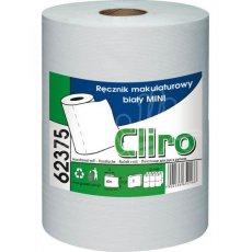 Recznik w rolce biały do pojemników mini makulatura 75% (CLIRO62375)
